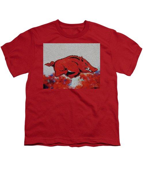 Woo Pig Sooie 2 Youth T-Shirt by Belinda Nagy