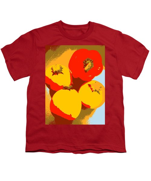 Zucchini And Bell Pepper Youth T-Shirt