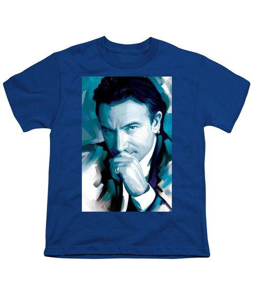 Bono U2 Artwork 4 Youth T-Shirt by Sheraz A
