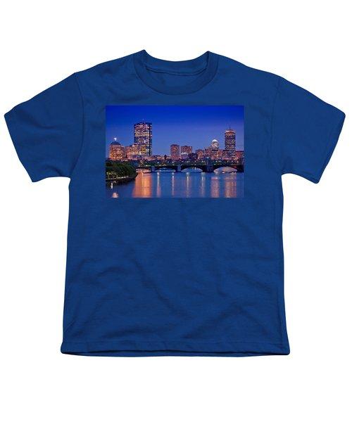 Boston Nights 2 Youth T-Shirt by Joann Vitali
