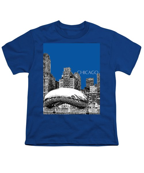 Chicago The Bean - Royal Blue Youth T-Shirt