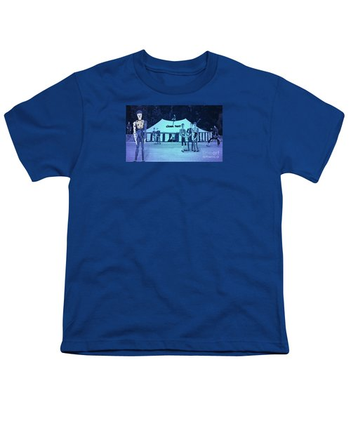 Youth T-Shirt featuring the photograph Clown Tent by Nareeta Martin