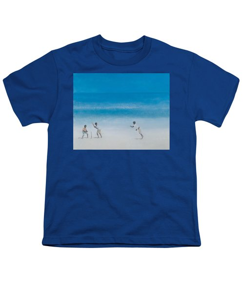 Cricket On The Beach, 2012 Acrylic On Canvas Youth T-Shirt