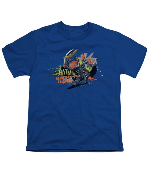 Dark Knight Rises - Back In The Game Youth T-Shirt