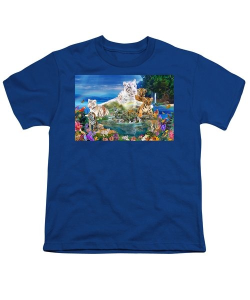 Dreaming Of Tigers  Variation  Youth T-Shirt