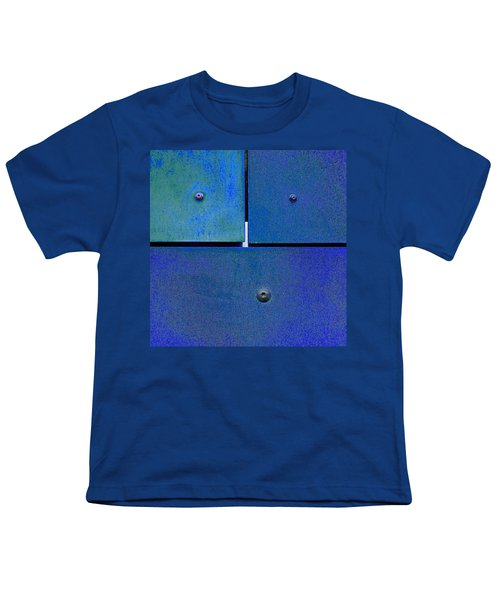 Four Five Six - Colorful Rust - Blue Youth T-Shirt