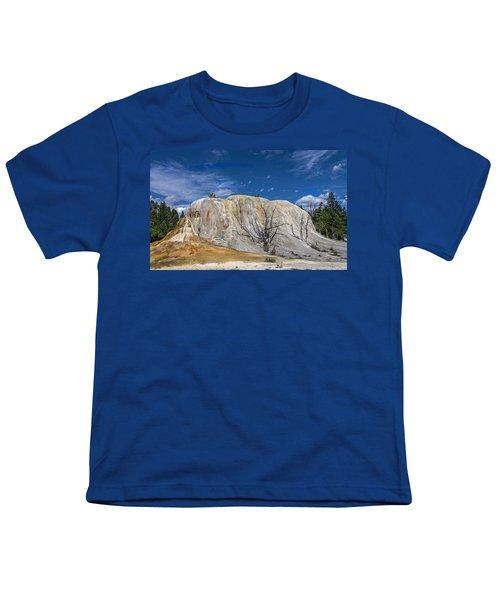 Orange Spring Mound Yellowstone National Park Youth T-Shirt