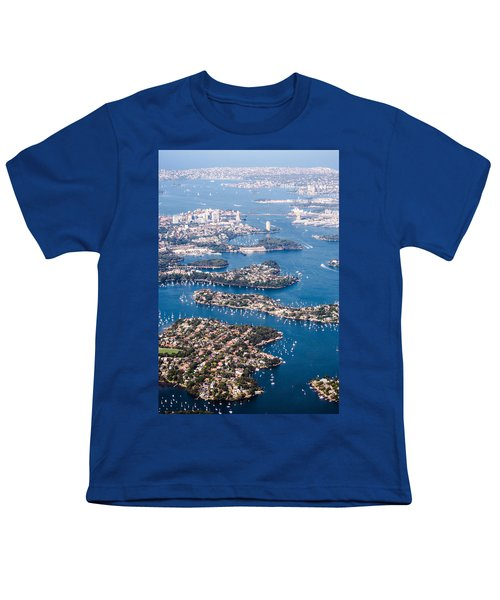 Sydney Vibes Youth T-Shirt by Parker Cunningham