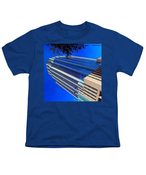 #blue Blue Tuesday.  #bluesky And Blue Youth T-Shirt
