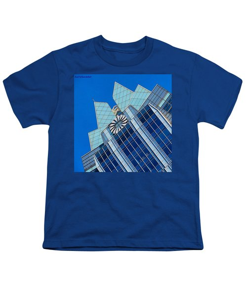 #beautiful #bluesky And The Frost Bank Youth T-Shirt