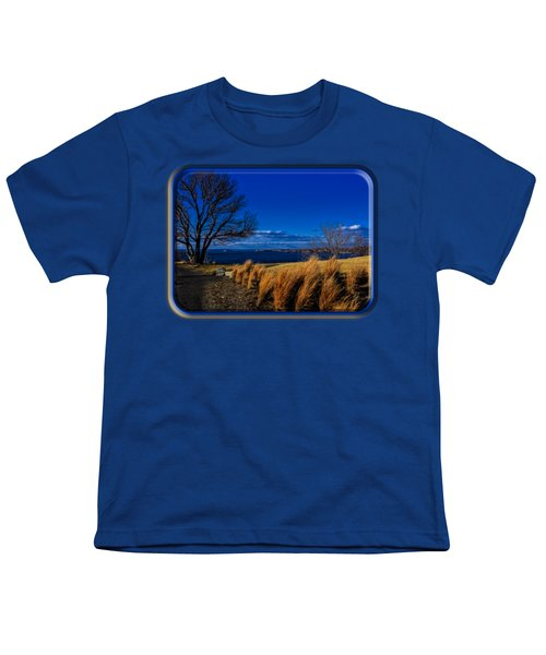 A Side Path Youth T-Shirt by Mark Myhaver