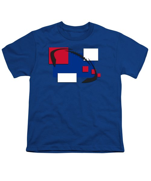 Bills Abstract Shirt Youth T-Shirt by Joe Hamilton