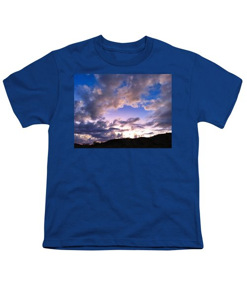 Blue Sunset Youth T-Shirt