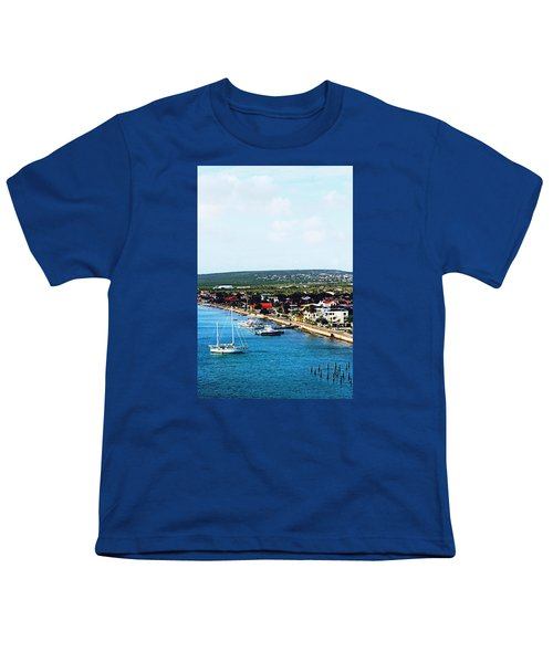 Bonaire Youth T-Shirt by Infinite Pixels