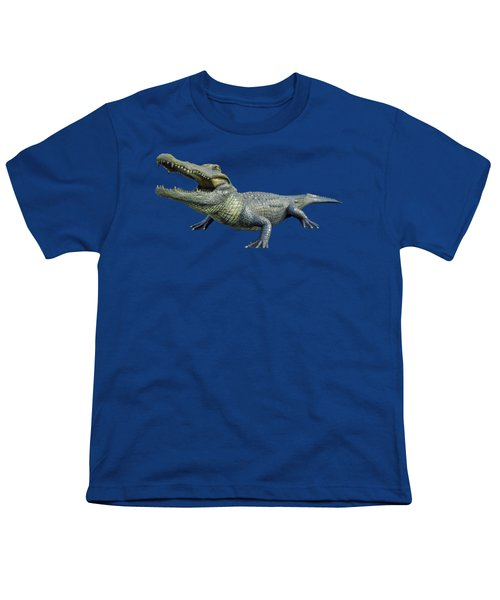 Bull Gator Transparent For T Shirts Youth T-Shirt by D Hackett