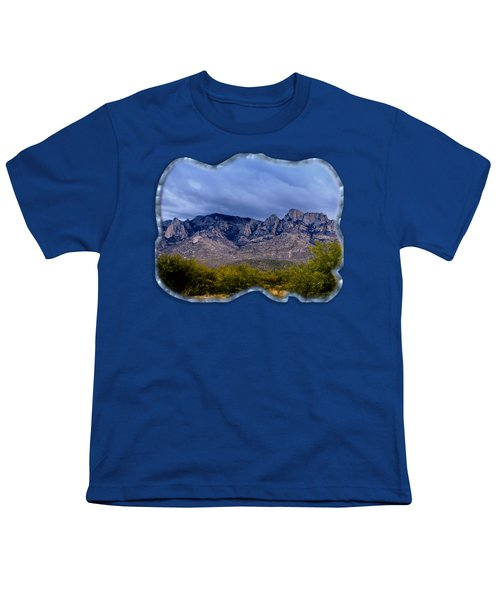 Catalina Mountains P1 Youth T-Shirt by Mark Myhaver