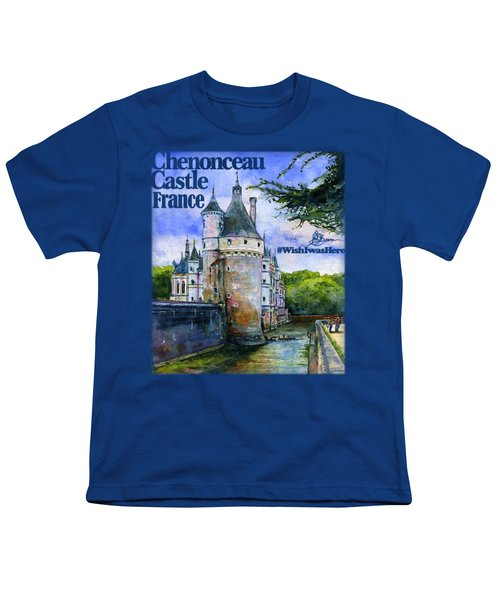 Chenonceau Castle Shirt Youth T-Shirt