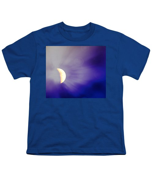 Aries Moon During The Total Lunar Eclipse 3 Youth T-Shirt