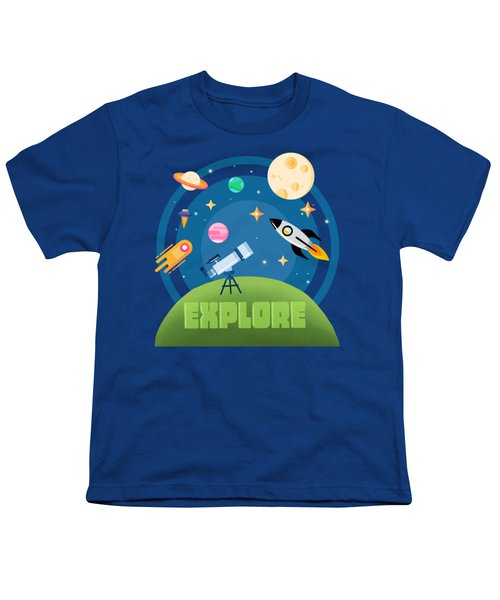 Explore Space Youth T-Shirt
