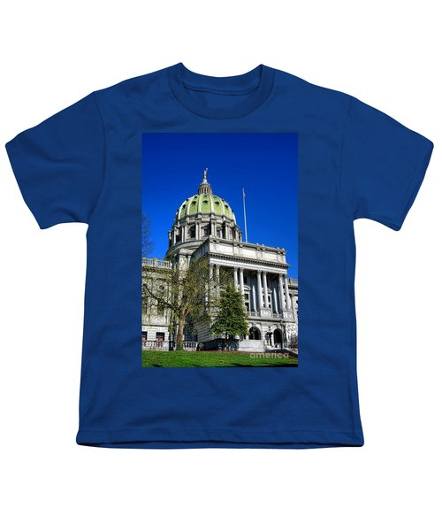 Harrisburg Capitol Building Youth T-Shirt