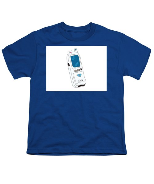 Japanese Classic Phone Youth T-Shirt