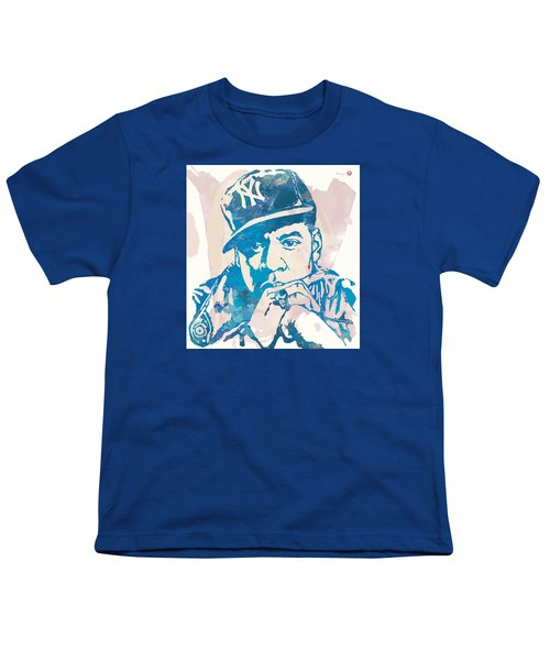 Jay-z  Etching Pop Art Poster Youth T-Shirt