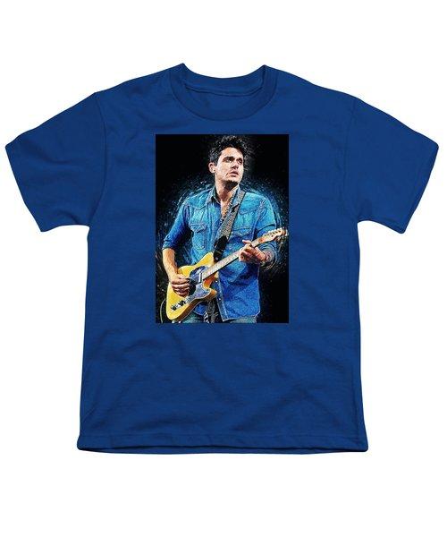 John Mayer Youth T-Shirt by Taylan Apukovska