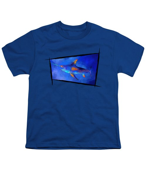 Kauderon V1 - Beautiful Swordfish Youth T-Shirt by Cersatti