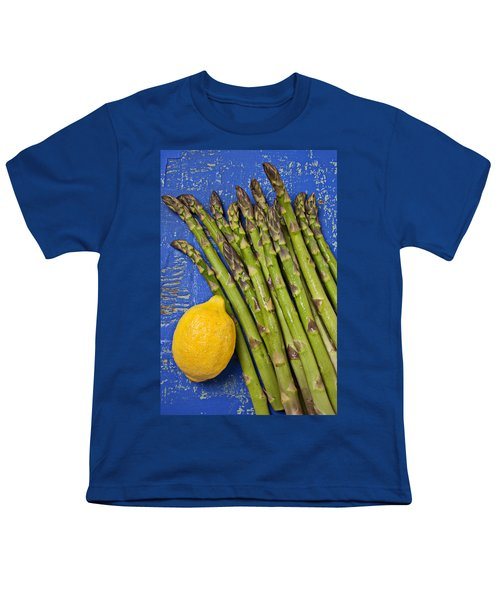 Lemon And Asparagus  Youth T-Shirt by Garry Gay