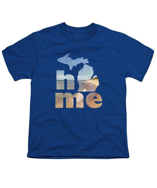 Michigan Home Youth T-Shirt