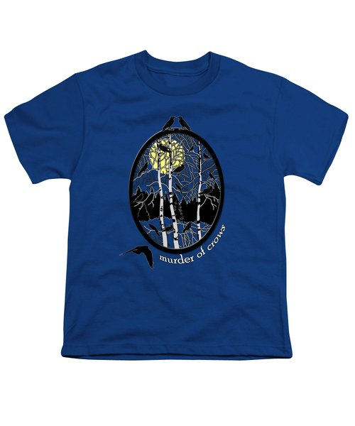 Murder Of Crows Youth T-Shirt