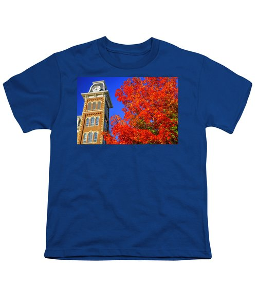 Old Main Maple Youth T-Shirt by Damon Shaw