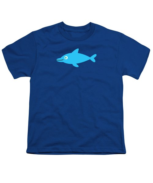 Pbs Kids Dolphin Youth T-Shirt by Pbs Kids