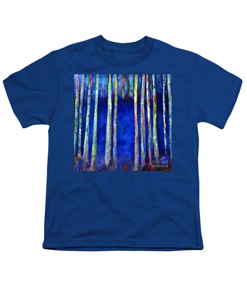 Peeking Through The Trees Youth T-Shirt