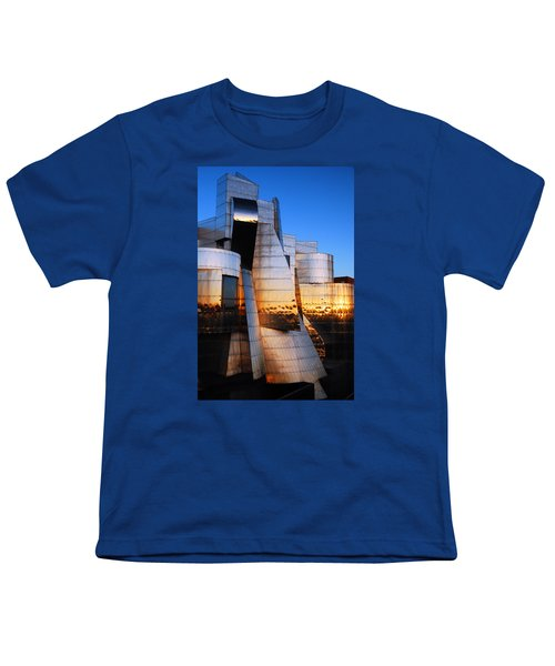 Reflections Of Sunset Youth T-Shirt by James Kirkikis