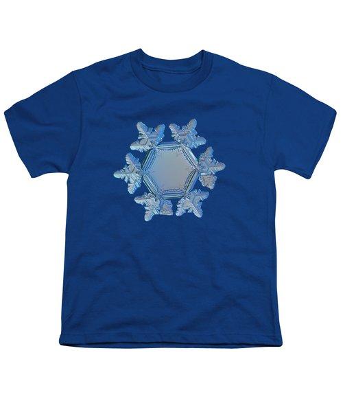 Snowflake Photo - Sunflower Youth T-Shirt