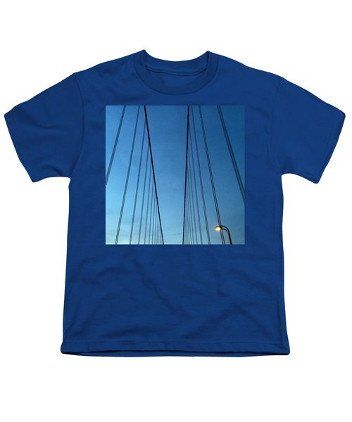Golden Gate Bridge Cables Youth T-Shirt