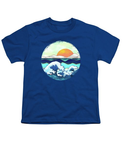 Stormy Waters Youth T-Shirt by Spacefrog Designs