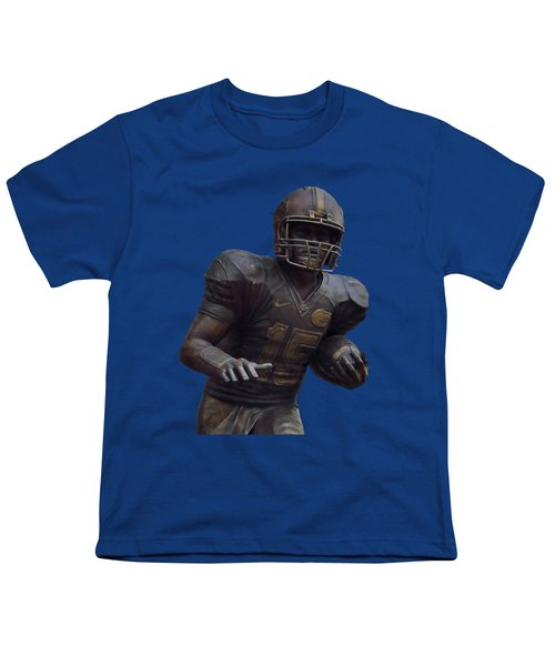 Tebow Transparent For Customization Youth T-Shirt by D Hackett