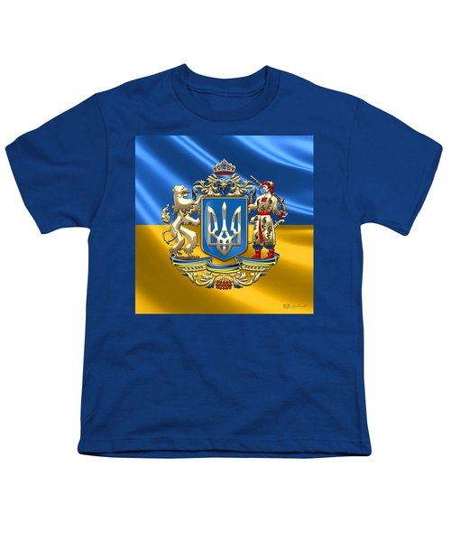 Ukraine - Greater Coat Of Arms  Youth T-Shirt