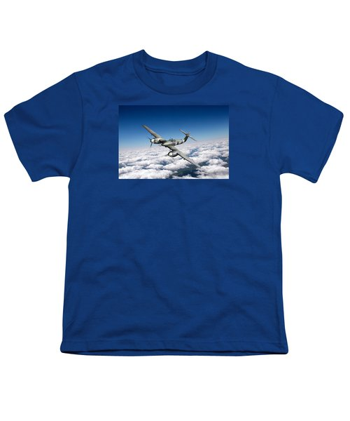 Westland Whirlwind Portrait Youth T-Shirt by Gary Eason