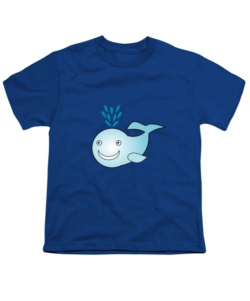 Whale - Animals - Art For Kids Youth T-Shirt