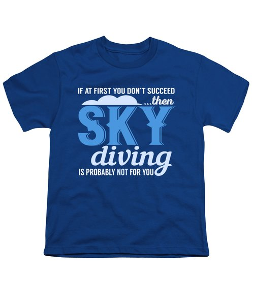 Sky Diving Youth T-Shirt