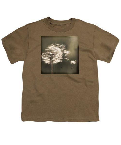 Youth T-Shirt featuring the photograph Dandelion by Yulia Kazansky