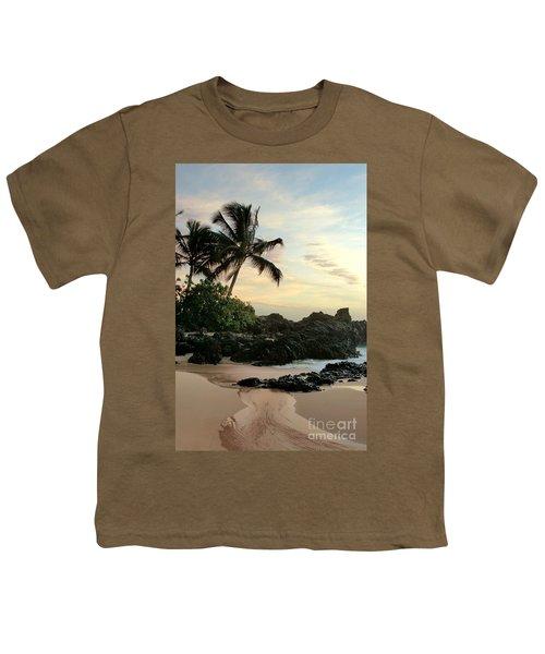 Edge Of The Sea Youth T-Shirt by Sharon Mau