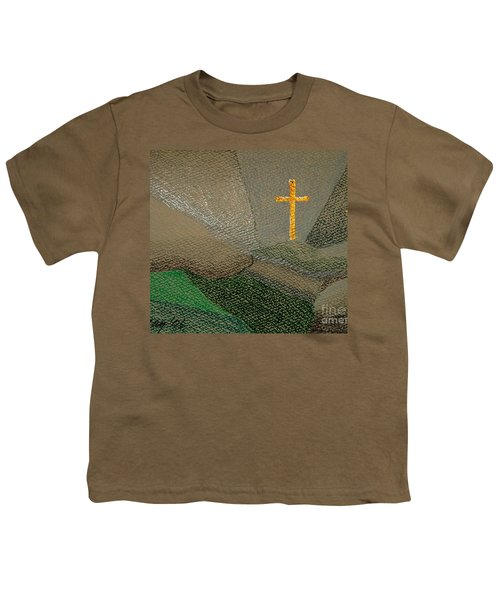 Depression And The Saviour Youth T-Shirt by Rod Ismay