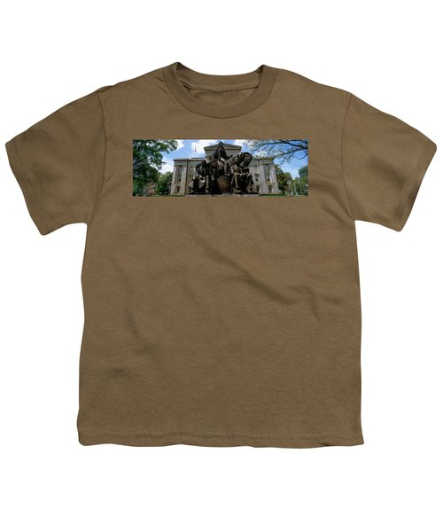 Low Angle View Of Statue Youth T-Shirt