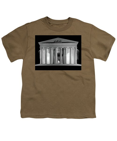 1960s Thomas Jefferson Memorial Lit Youth T-Shirt