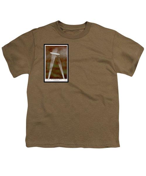 American Beaver Swimming Youth T-Shirt by Yva Momatiuk John Eastcott