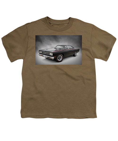 '69 Roadrunner Youth T-Shirt by Douglas Pittman